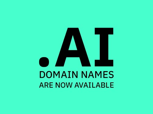 .AI TLD Names Are Now Available